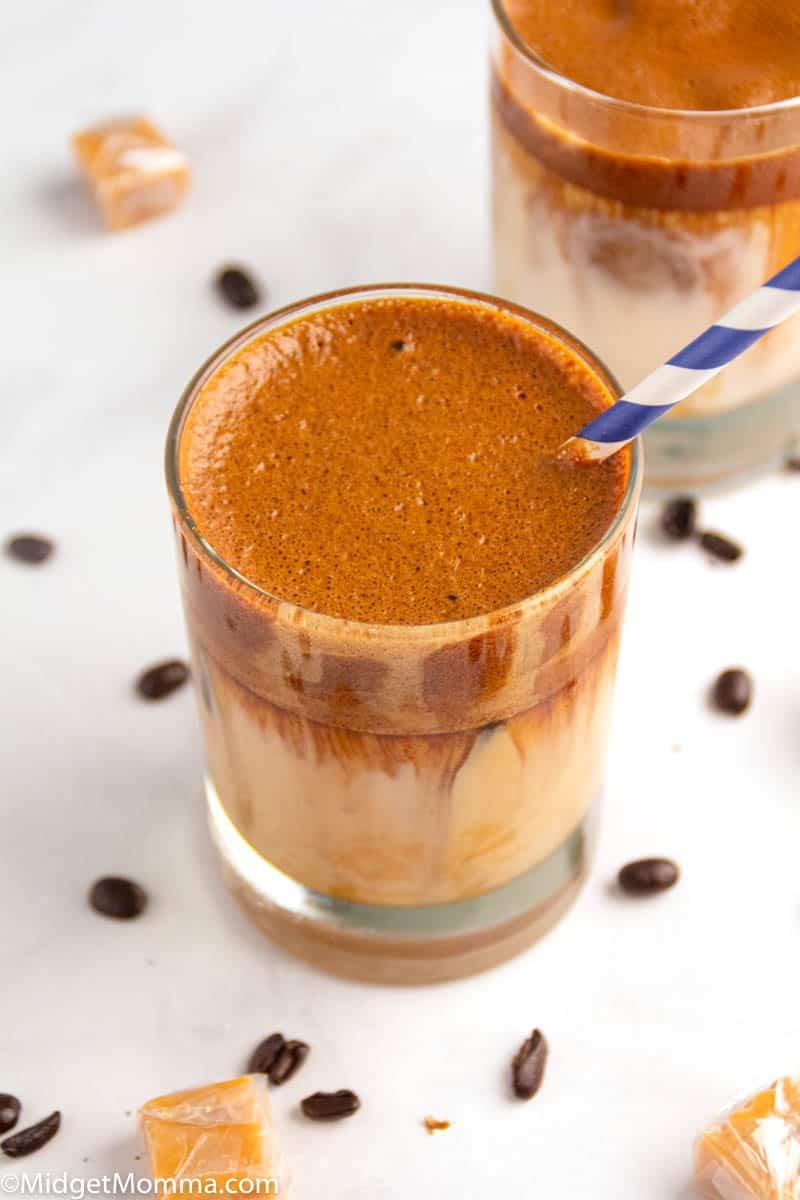 Keto Dalgona Whipped Coffee