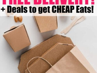 Looking for restaurants offering free delivery? Check out this great list of Restaurants offering free delivery plus deals to eat on the cheap!