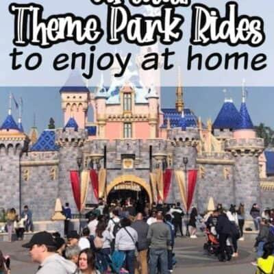 Virtual Theme park rides to enjoy at home