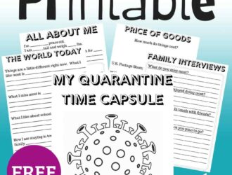 Covid-19 Coronavirus Time Capsule worksheets