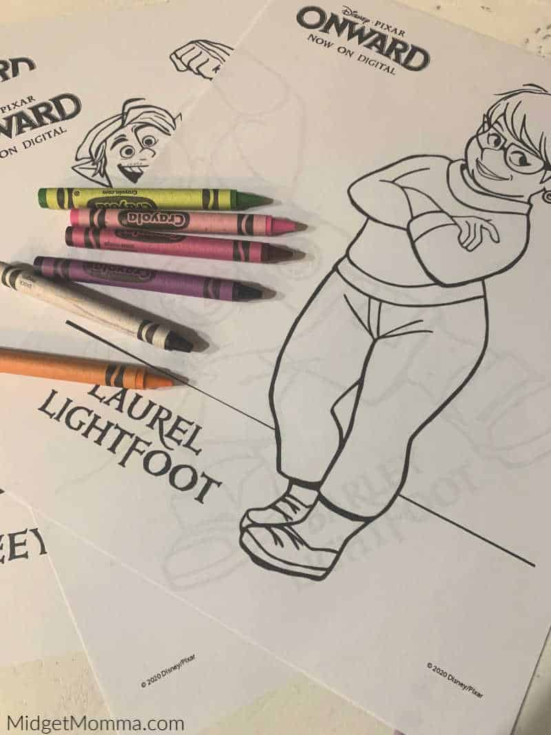 Onward Printable Coloring Pages And Activity Sheets
