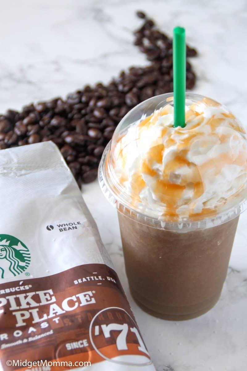 Salted Caramel Frappuccino recipe