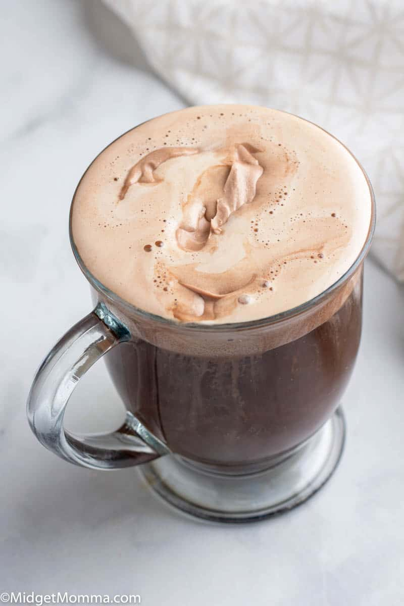 Whipped Mocha Dalgona Coffee Recipe