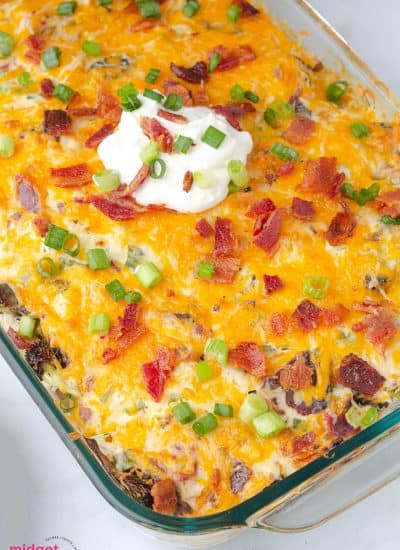 Loaded Chicken and Potato Casserole