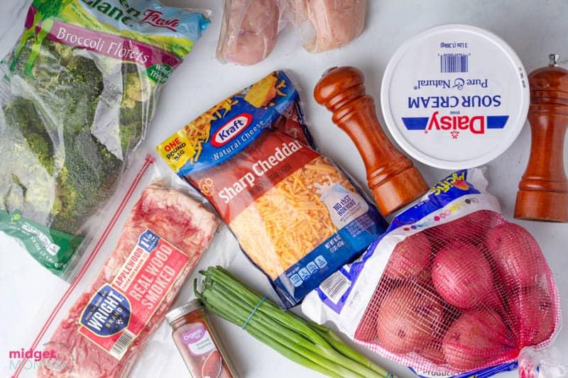 Loaded Chicken and Potato Casserole