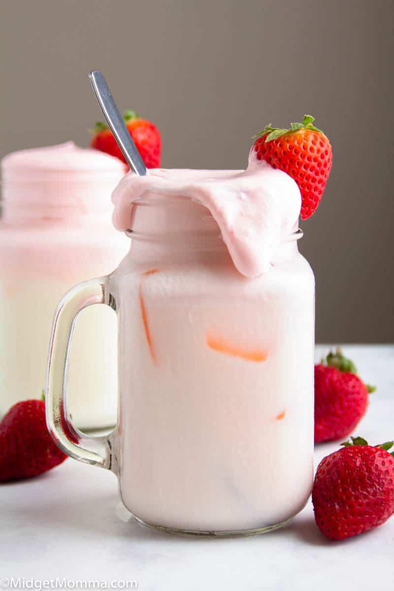 Whipped Strawberry Milk Recipe