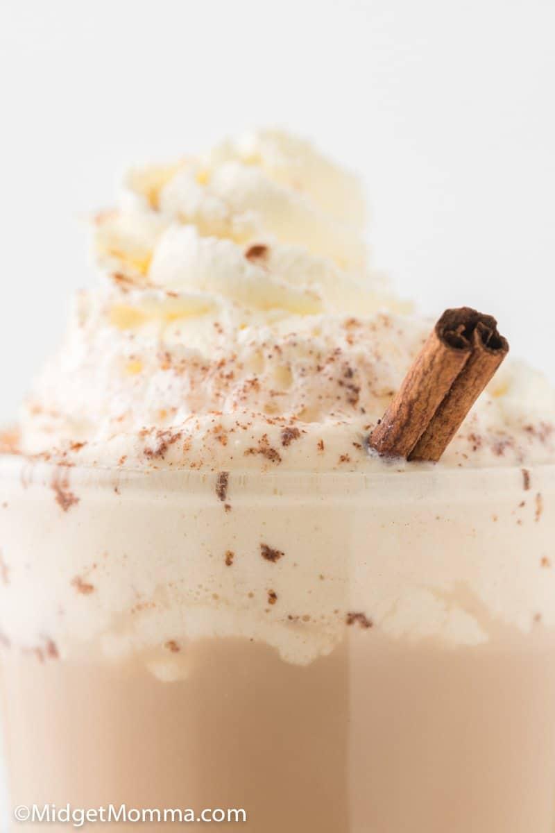 close up photo  Starbucks Pumpkin Spice Latte Recipe