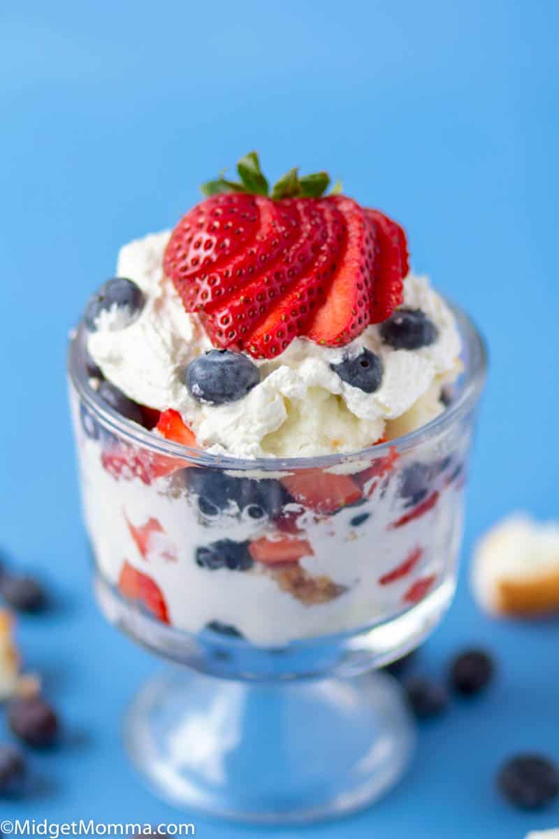 Strawberry Blueberry Trifle