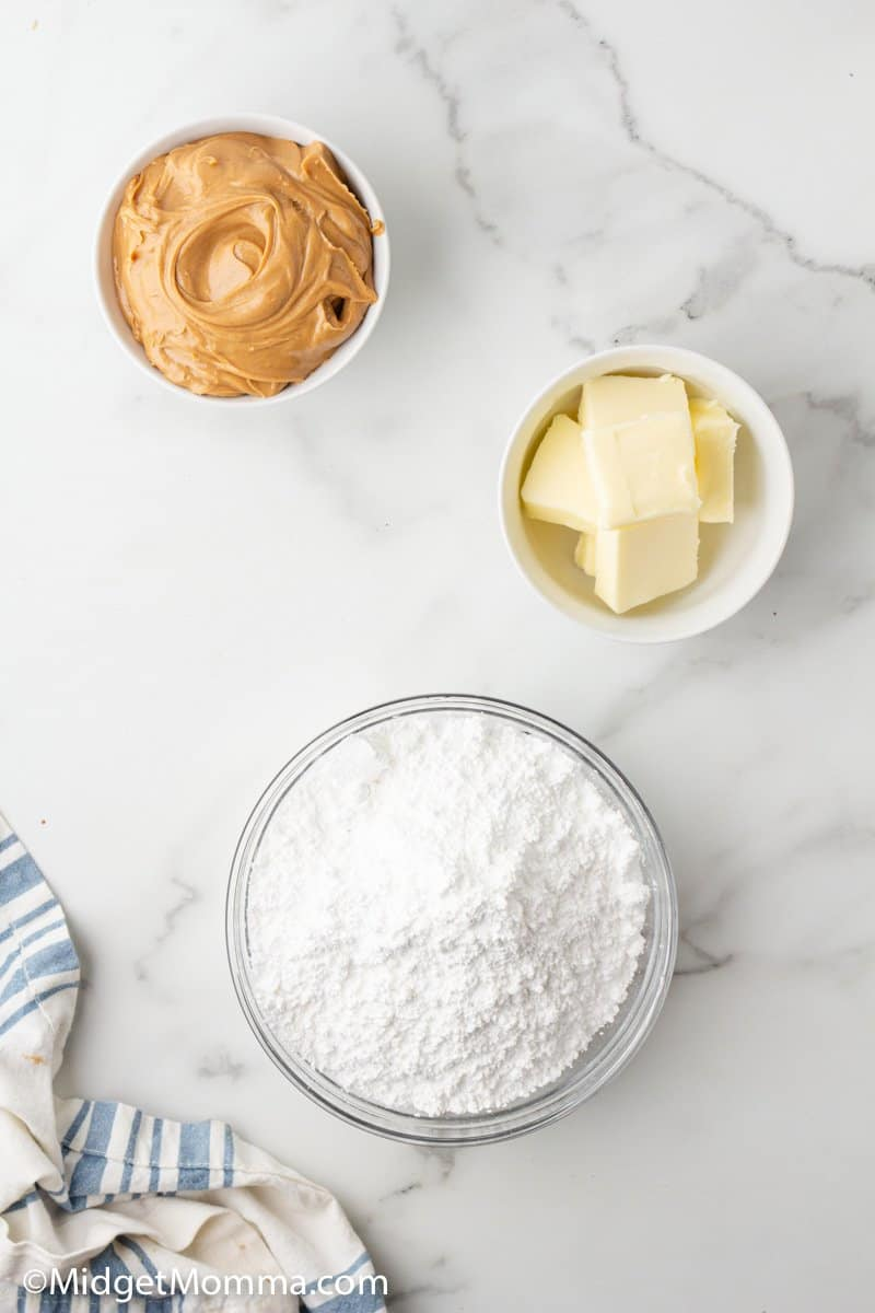 Peanut butter cookie frosting ingredients