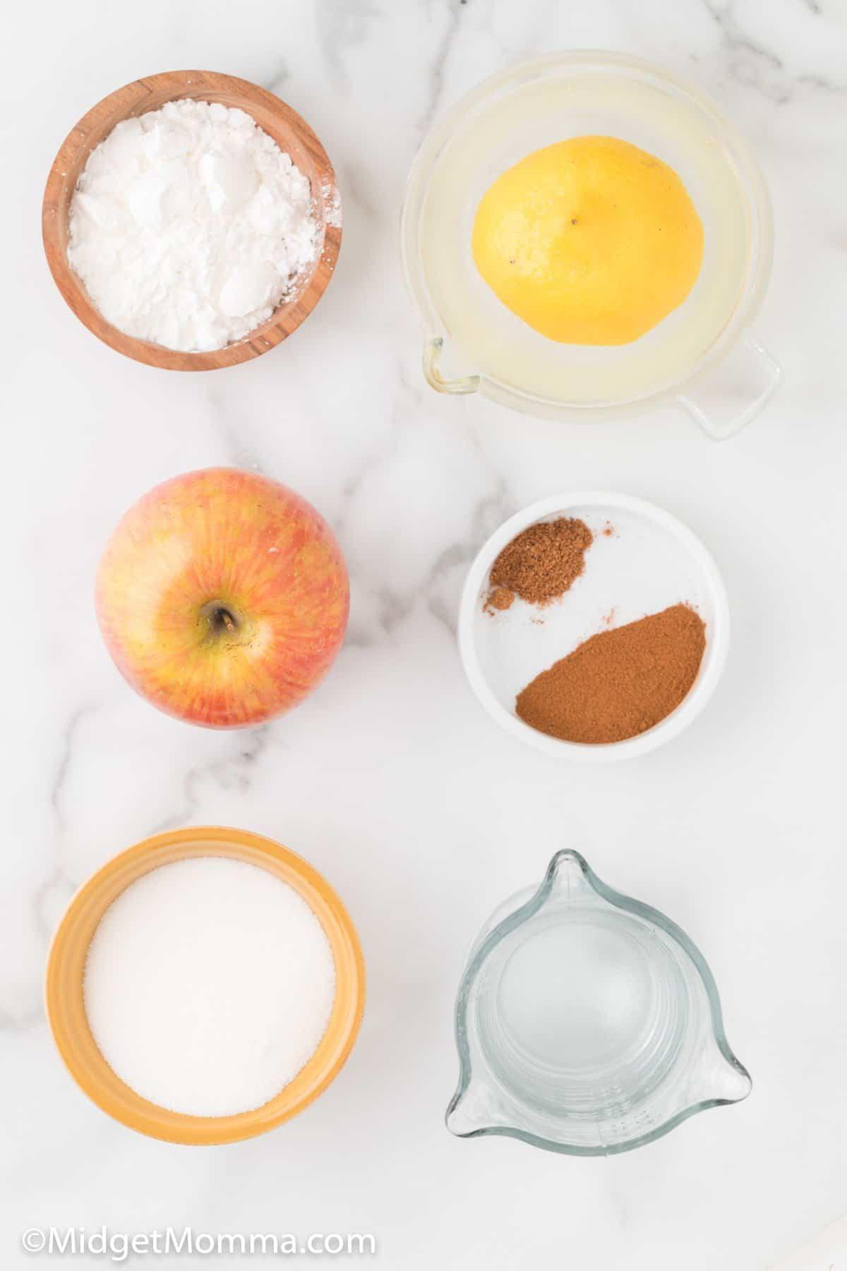 Stove Top Apple Pie Filling ingredients