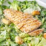 Caesar SaladRecipe with homemade Caesar Salad Dressing