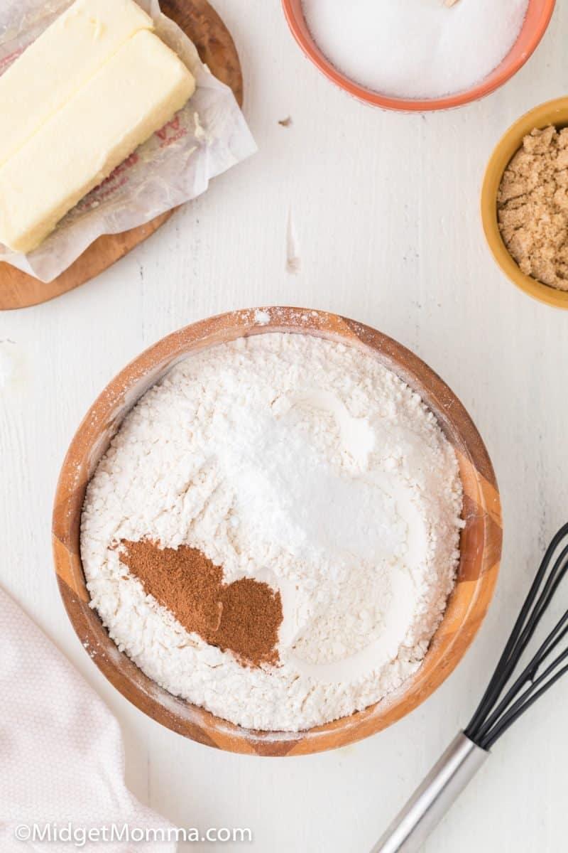 Pumpkin Snickerdoodle Cookie recipe  ingredients