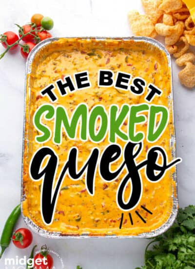 the best smoked queso dip
