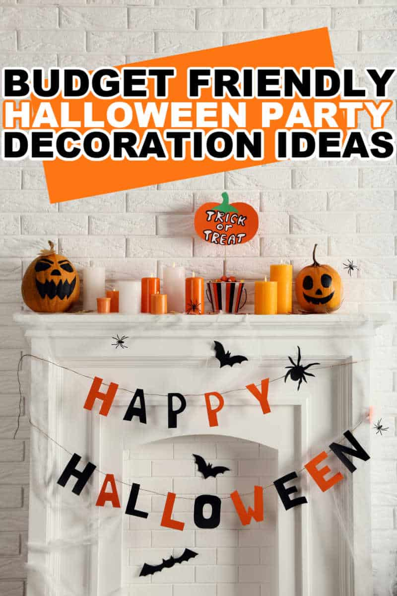 HALLOWEEN PARTY DECOARTION IDEAS