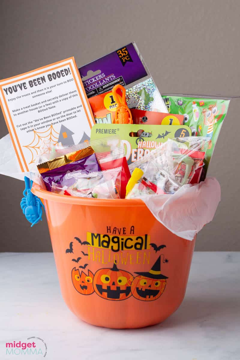 You've Been BOOed! - How to do Halloween BOOing & You've Been BOOed Printables