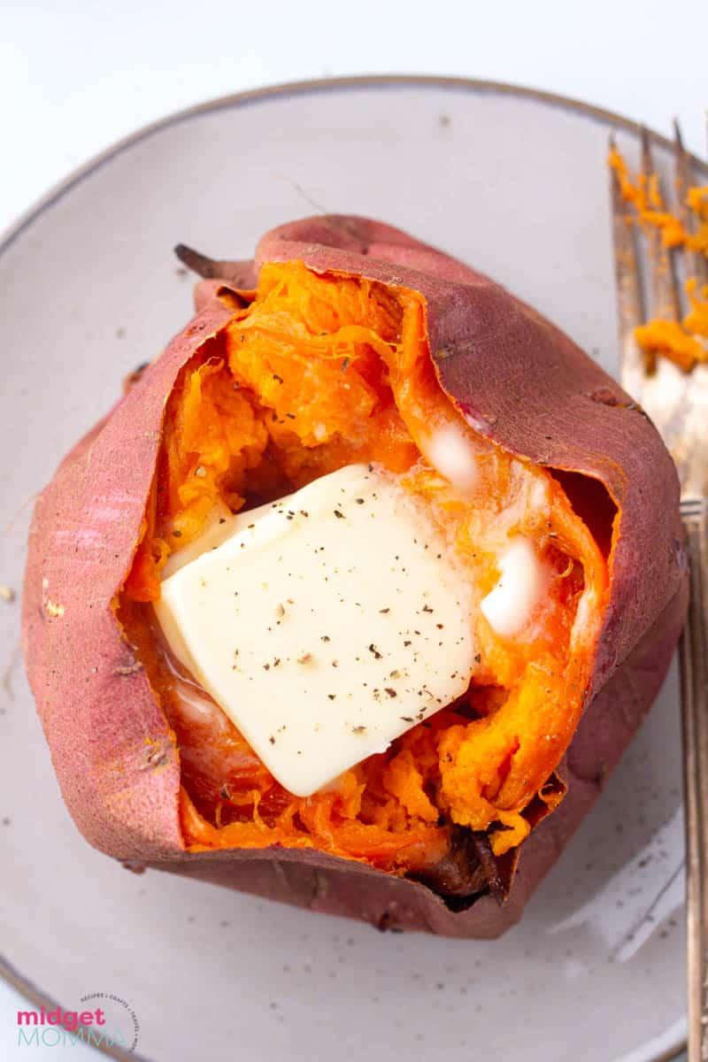 Easy Oven Baked Sweet Potatoes (How to Bake Sweet Potatoes)