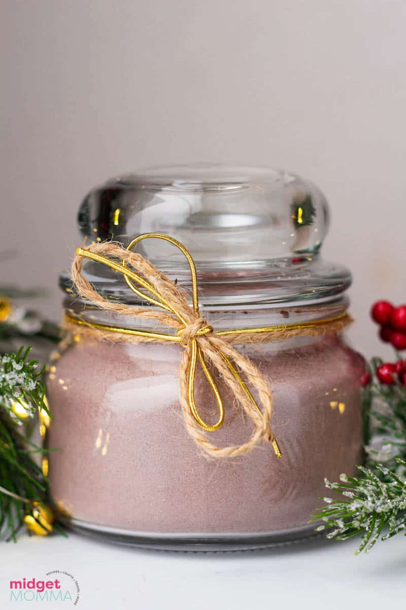 Homemade Hot Chocolate Mix gift idea