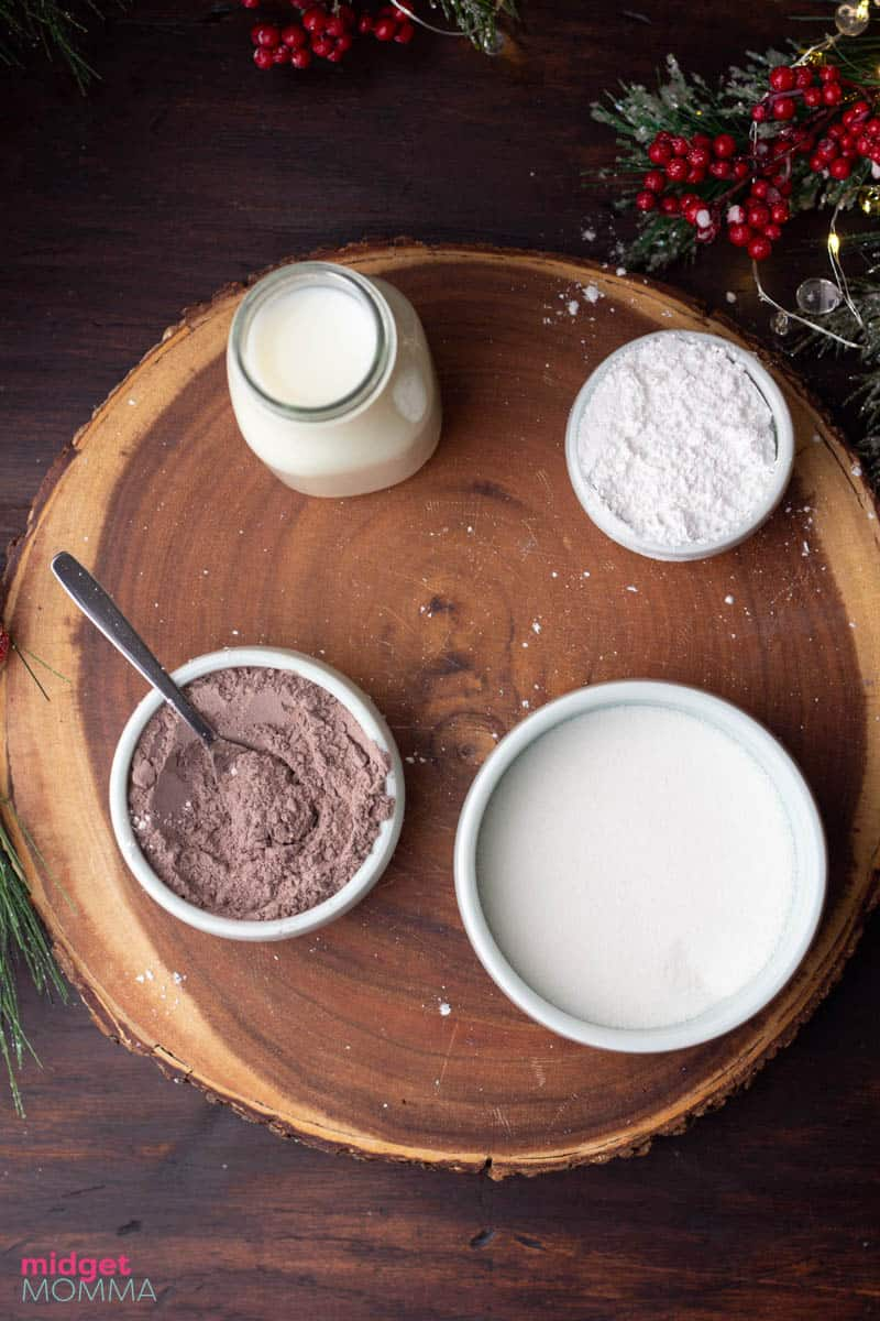 Italian Hot Chocolate inigredients