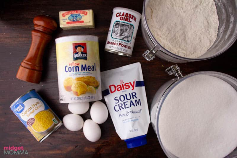 cornbread casserole ingredients