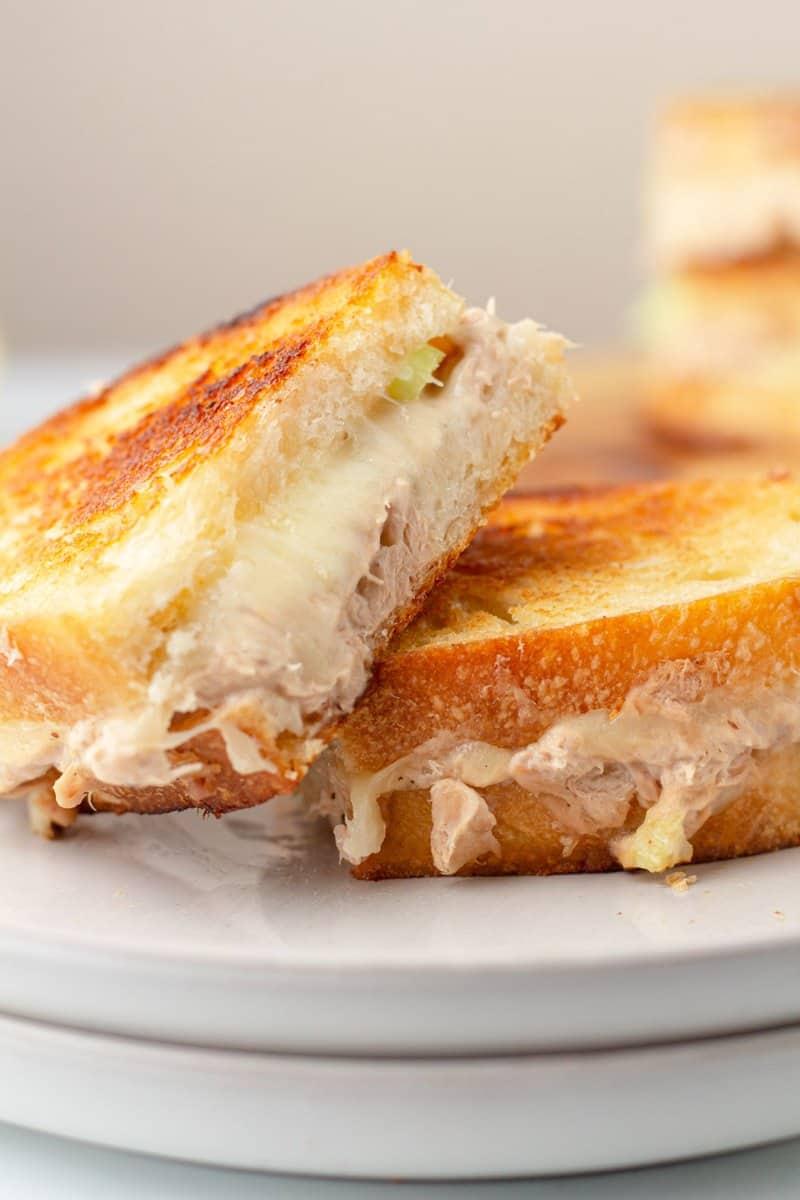 Classic Tuna melt sandwich