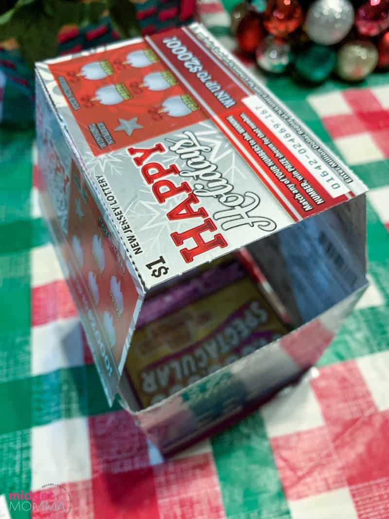 How to make a DIY Lottery Ticket Gift