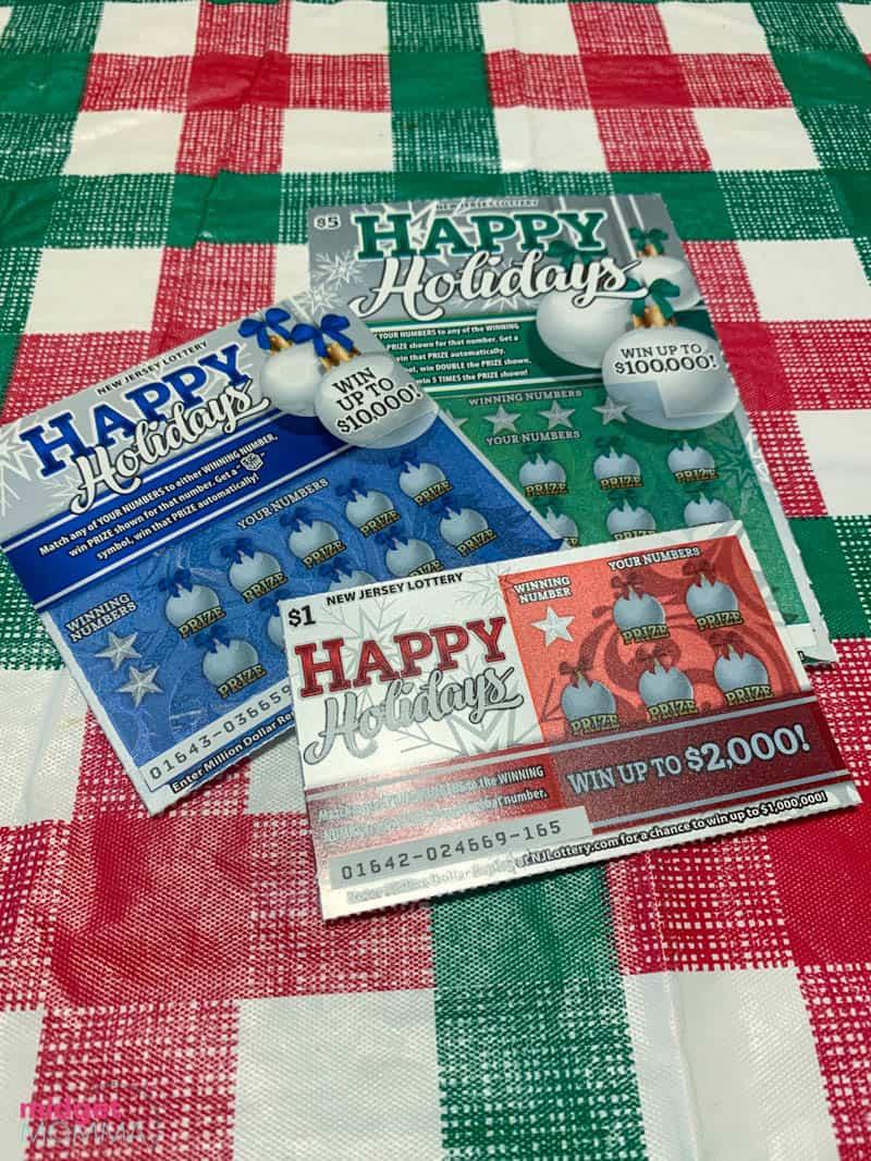 NJ Lottery Holiday Scratch-Offs