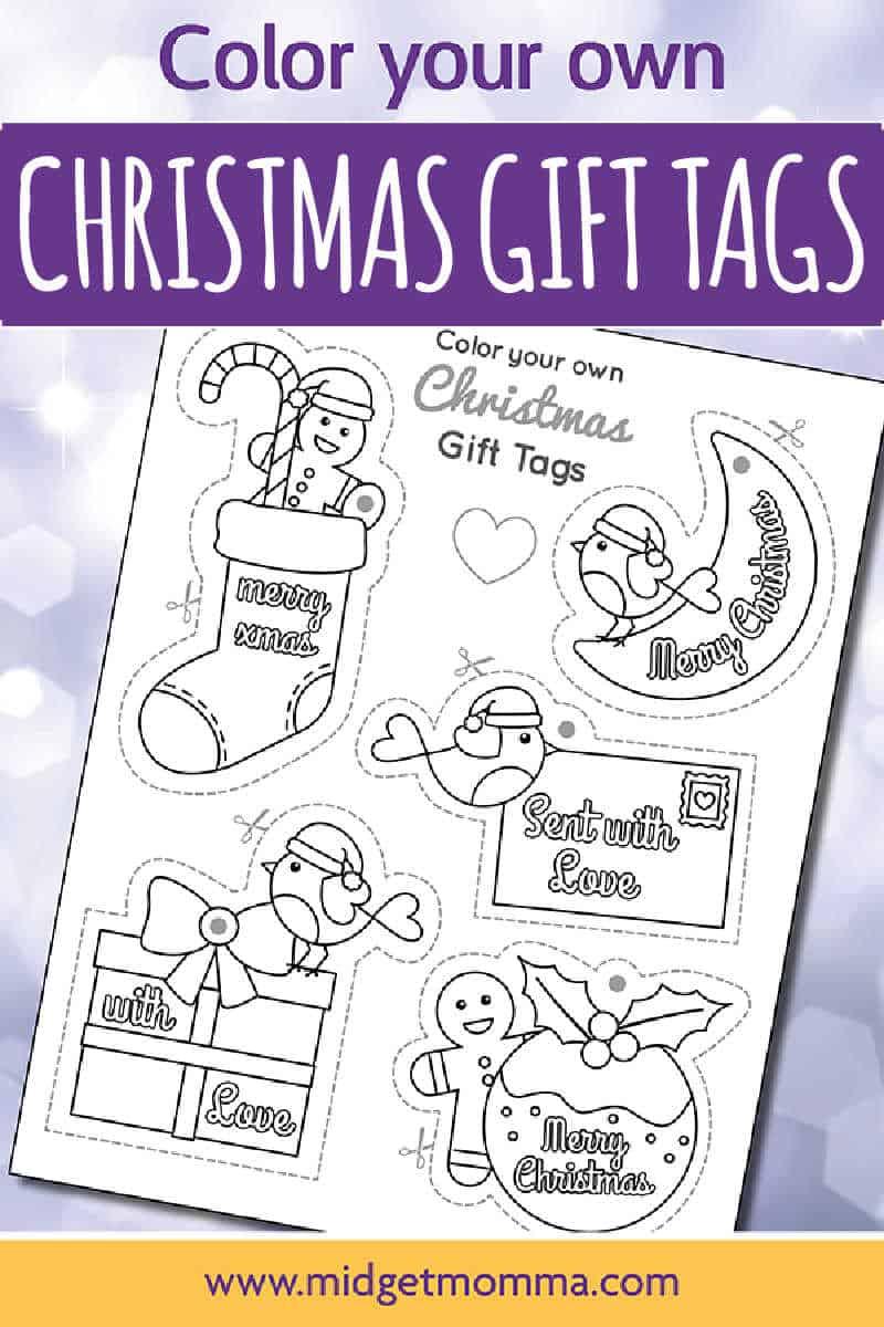 Color You Own Printable Gift Tags