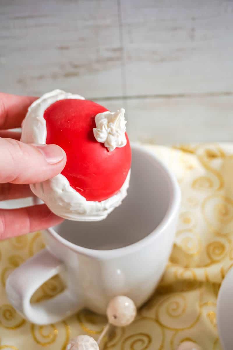 Santa Hot Chocolate Bombs
