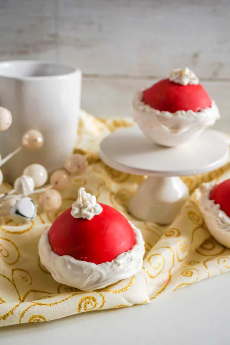 Santa Hot Chocolate Bombs