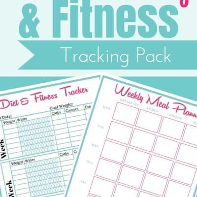 Meal Planning and Fitness Tracking Printable Freebie