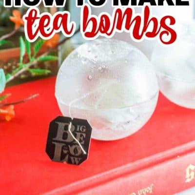 how to make Tea Bombs recipe