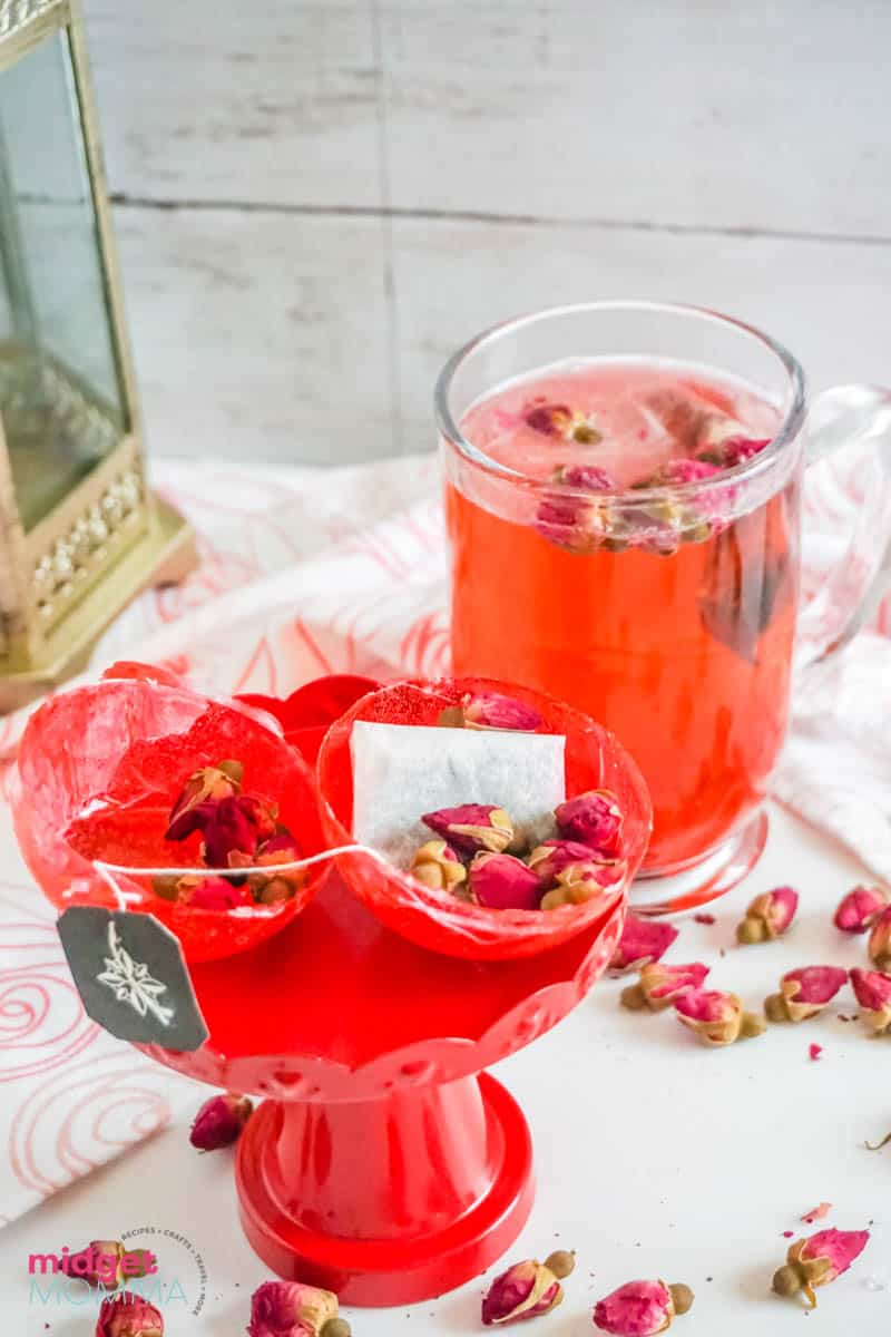 HowTea Bombs with Dried Flowers