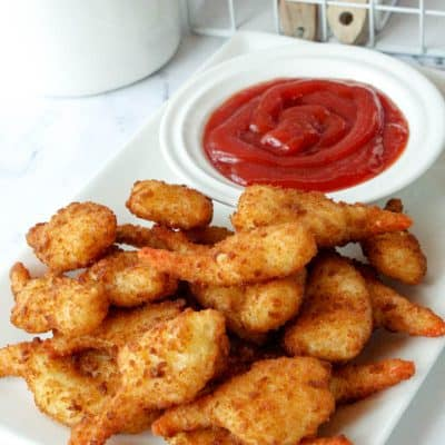 Air Fryer Frozen Shrimp