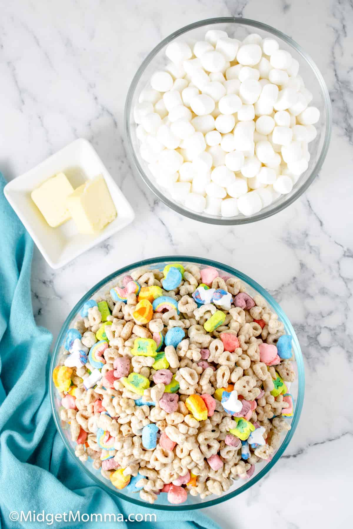 lucky charms treats ingredients