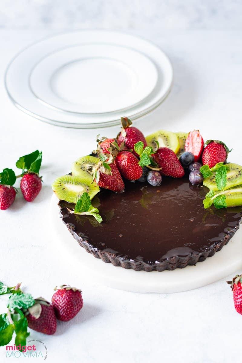 Dark Chocolate Tart Recipe