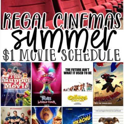 Regal Summer movies 2021
