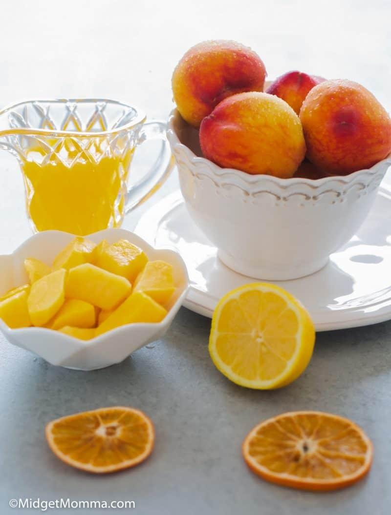 Peach Mango Smoothie Ingredients