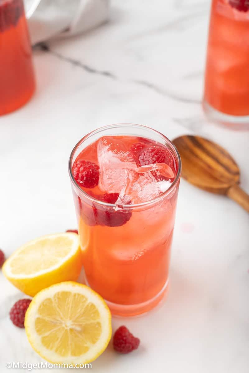 Glass of Raspberry Lemonade Recipe