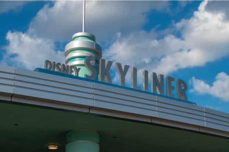 Disney Gondola entrance