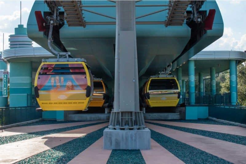 Loading for Disney Gondola