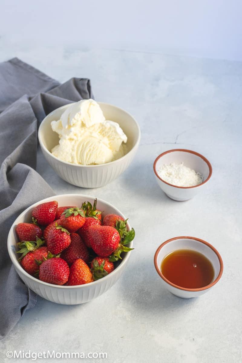 spaghetti ice cream ingredients