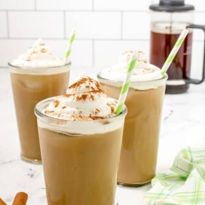 Iced cinnamon dolce Starbucks copy cat recipeIced cinnamon dolce Starbucks copy cat recipe