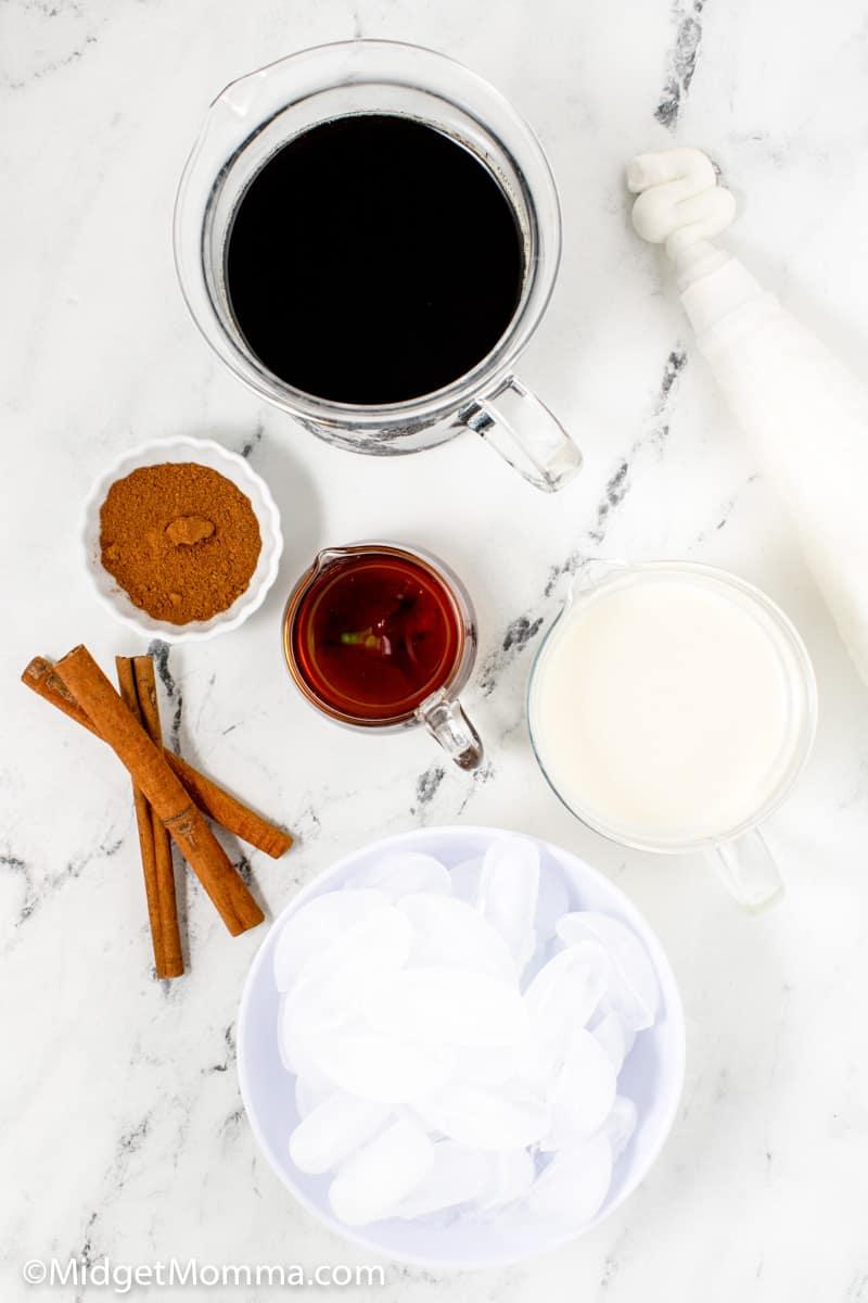 Iced cinnamon dolce Starbucks copy cat recipe ingredients