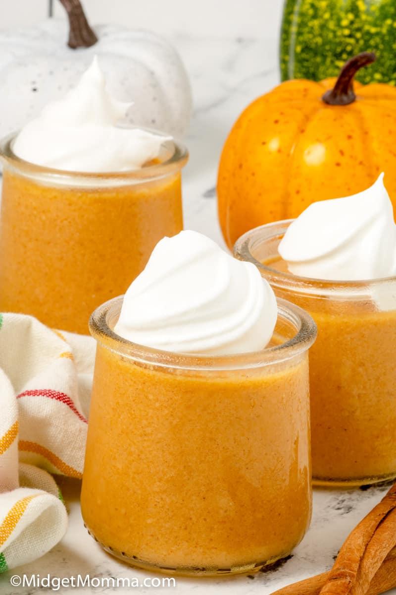 homemade pumpkin pudding recipe