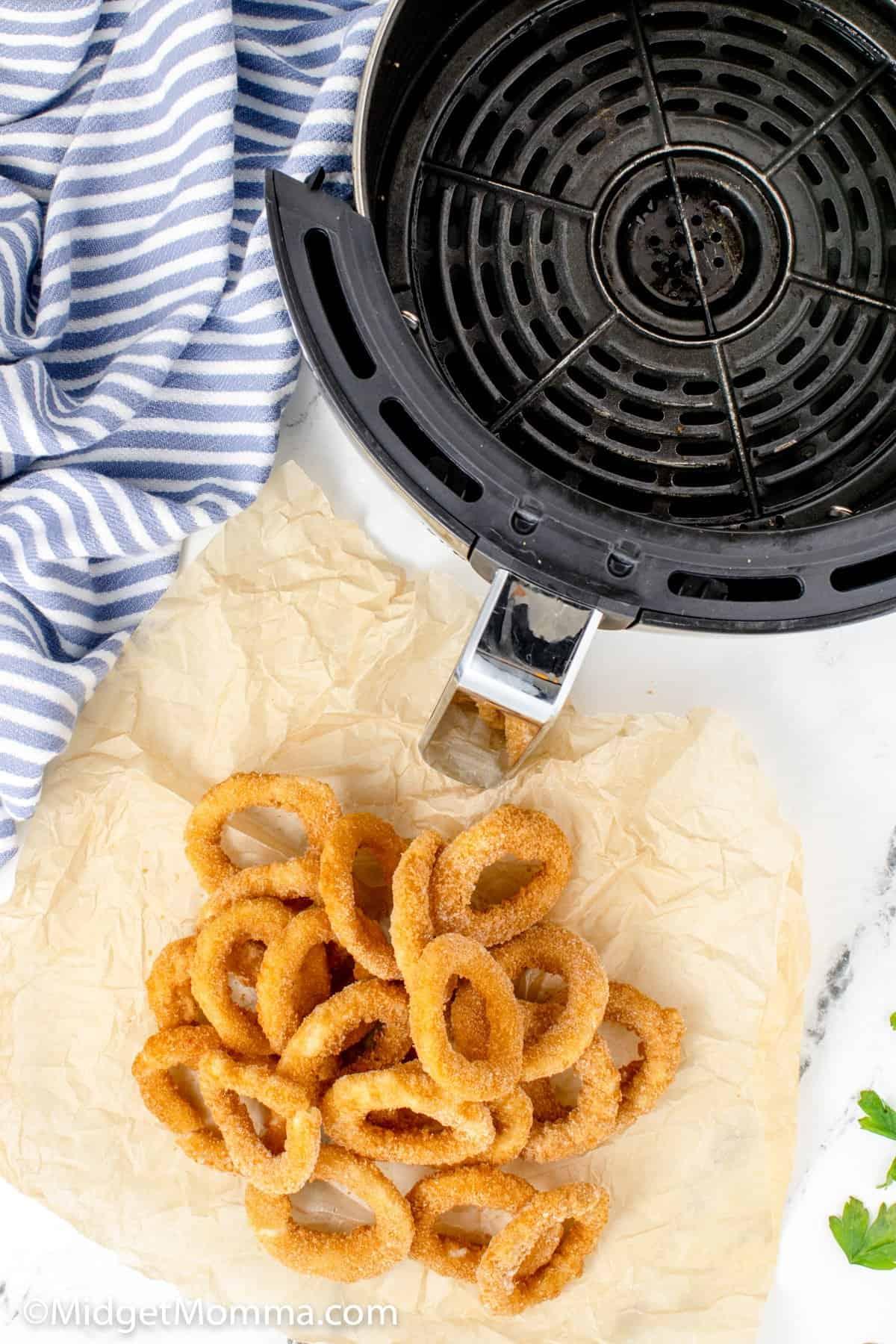 Air fryer onion rings ingredients
