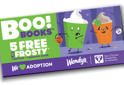 Wendy's Halloween Boo Books