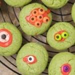 Monster Eye Ball Halloween Sugar Cookies